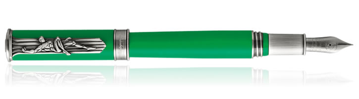 Montegrappa DC Comics Heroes & Villains Fountain Pens in Green Lantern