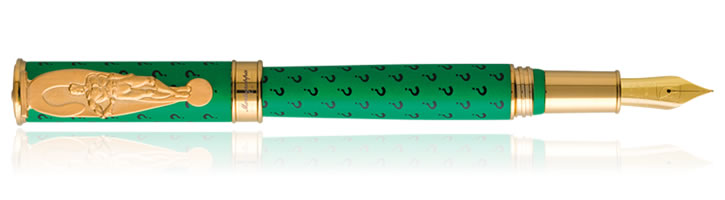 Montegrappa DC Comics Heroes & Villains Fountain Pens in The Riddler
