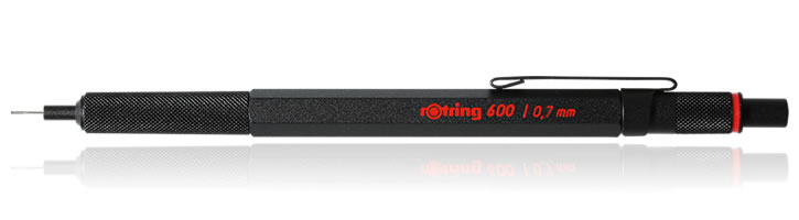 Rotring 600 Mechanical Pencils in Black - 0.7mm