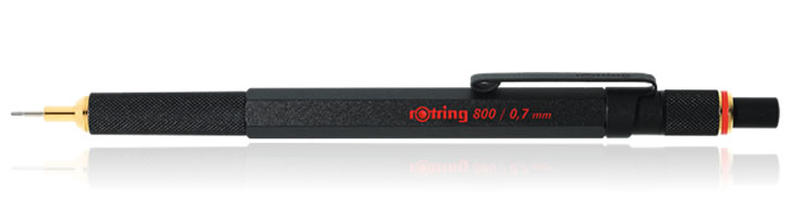 Rotring 800 Mechanical Pencils in Black - 0.7mm