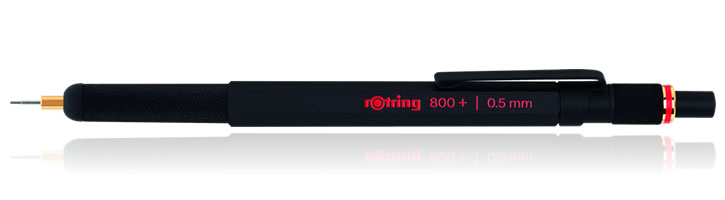 Rotring 800+ Mechanical Pencils in Black - 0.5mm