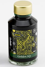Diamine Shimmering(50ml)  Fountain Pen Ink in Golden Ivy