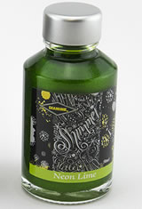 Diamine Shimmering(50ml)  Fountain Pen Ink in Neon Lime