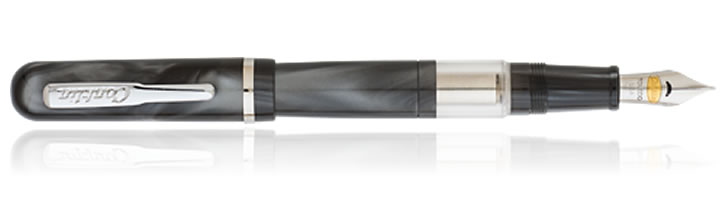Conklin Sleeve Filler Fountain Pens in Grey Swirl