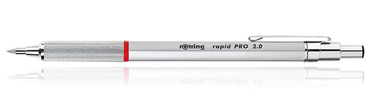 Rotring Rapid Pro Mechanical Pencils in Silver - 2.0 mm