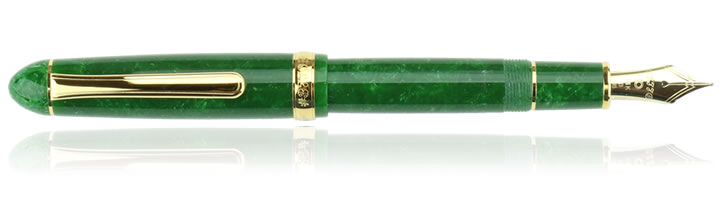 Platinum 3776 Century Celluloid Fountain Pens in Jade