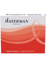 Waterman Short International Cartridge(6pk) Fountain Pen Ink