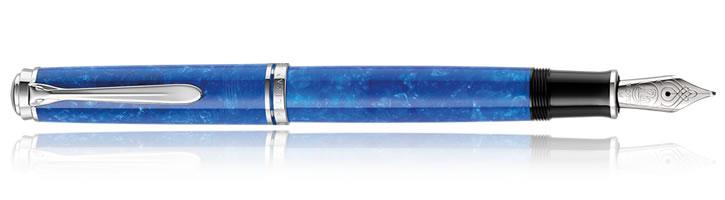 Pelikan Souveran M805 Vibrant Blue Fountain Pens