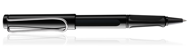 Lamy Safari Rollerball Pens in Shiny Black