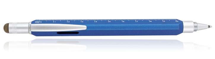 Ocean Blue Monteverde Tool 60 Ballpoint Pens