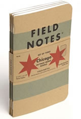 Field Notes Chicago Edition Memo & Notebooks