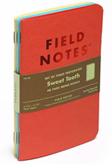Field Notes Sweet Tooth Memo & Notebooks