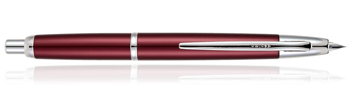 Burgundy Pilot Capless Decimo Fountain Pens