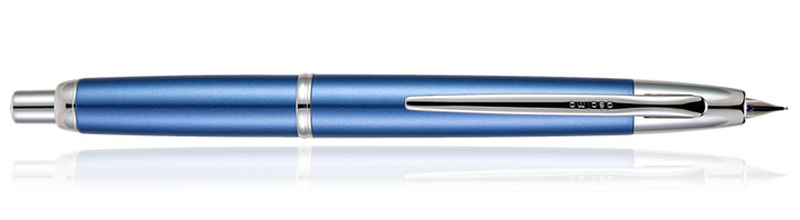 Light Blue Pilot Capless Decimo Fountain Pens