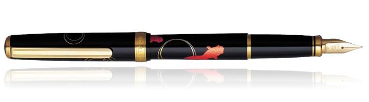 Goldfish Platinum Modern Maki-e Fountain Pens