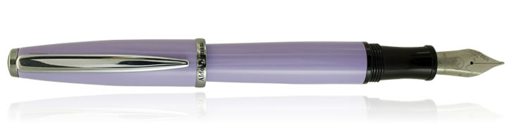 Monteverde Aldo Domani Fountain Pens in Light Purple