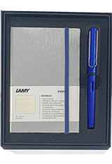 Lamy / Gift Set - Notebook & AL-Star Fountain Pens
