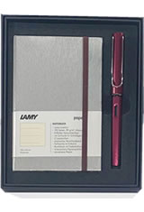 Lamy / Gift Set - Notebook & AL-Star Fountain Pens