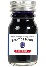 J Herbin Bottled Ink(10ml) Fountain Pen Ink in Eclat de Saphir