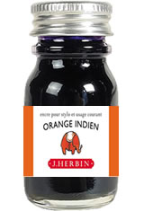 J Herbin Bottled Ink(10ml)  in Orange Indien