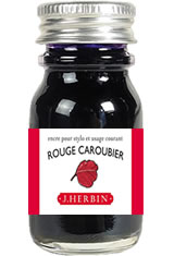Rouge Caroubier J Herbin Bottled Ink(10ml) Fountain Pen Ink