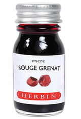 Rouge Grenat J Herbin Bottled Ink(10ml) Fountain Pen Ink