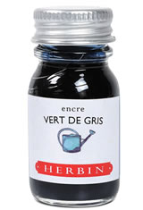 Vert de Gris J Herbin Bottled Ink(10ml) Fountain Pen Ink