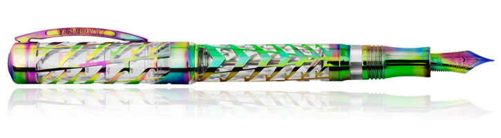 Iridium Rainbow Visconti Watermark Fountain Pens