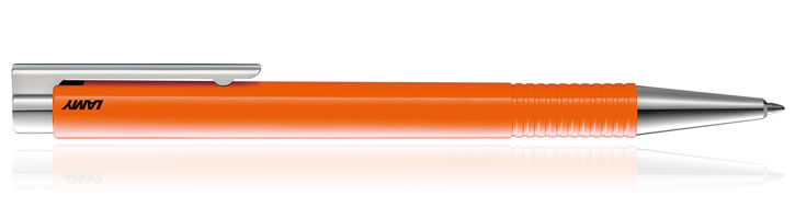 Lamy Logo Ballpoint Pens in Laser Orange