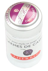 J Herbin Cartridge(6pk)  in Larmes Cassis