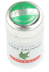 J Herbin Cartridge(6pk)  in Lierre Sauvage