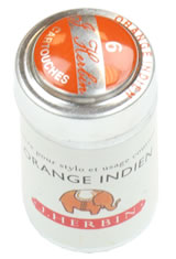 J Herbin Cartridge(6pk) Rollerball Pen Refills in Orange Indien