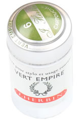 Vert Empire J Herbin Cartridge(6pk) Fountain Pen Ink