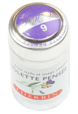 J Herbin Cartridge(6pk)  in Violette Pensee