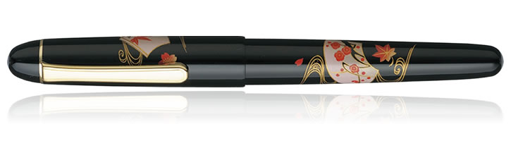 Platinum 3776 Maki-e Fountain Pens in Senmen