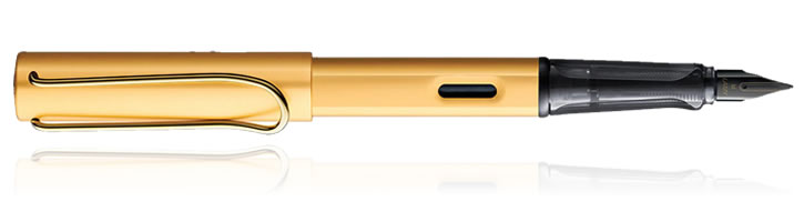 Gold Lamy Lx Fountain Pens