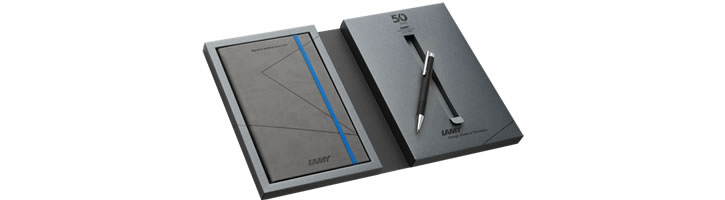Lamy Special Edition Gift Set - Notebook & Logo Ballpoint Pens