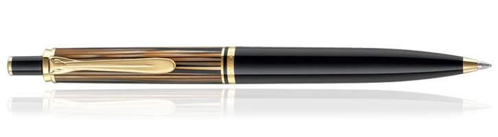 Pelikan Souveran K400 Tortoiseshell Brown Ballpoint Pens