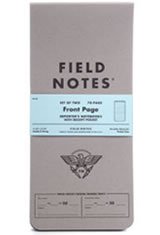 Field Notes Front Page Memo & Notebooks in Gray