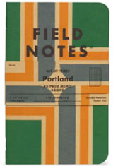 Field Notes Portland Memo Books & Notebooks