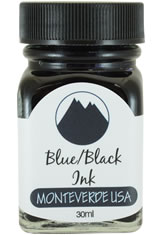 Blue Black Monteverde Bottled Ink(30ml) Fountain Pen Ink