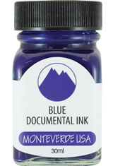 Blue Permanent Monteverde Bottled Ink(30ml) Fountain Pen Ink