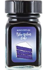 Blue Velvet Cake Monteverde Bottled Ink(30ml) Fountain Pen Ink