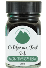 Monteverde Bottled Ink(30ml)  in California Teal