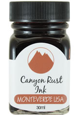 Monteverde Bottled Ink(30ml) Fountain Pen Ink in Canyon Rust
