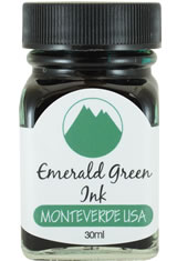 Monteverde Bottled Ink(30ml) Fountain Pen Ink in Emerald Green