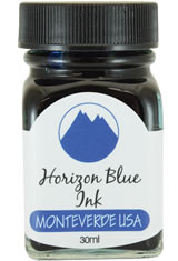 Monteverde Bottled Ink(30ml) Fountain Pen Ink in Horizon Blue