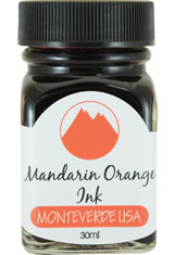 Monteverde Bottled Ink(30ml) Fountain Pen Ink in Mandarin Orange