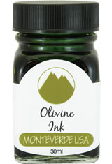 Olivine Monteverde Bottled Ink(30ml) Fountain Pen Ink