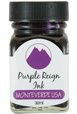 Purple Reign Monteverde Bottled Ink(30ml) Fountain Pen Ink